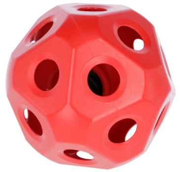 HeuBoy rot Futterspielball Spielball 40 cm Kerbl 3210386
