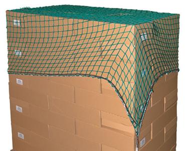 Kerbl 37261 Abdecknetz SafeNet Länge 3,5m, Breite 2,0m,  Sicherheitsnetz Netz