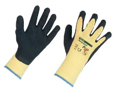 Kerbl 297315 Handschuh PowerGrab Plus Gr 11 Latex Handschuhe