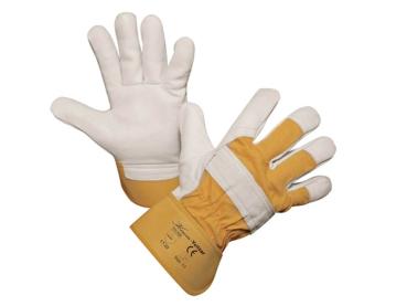 Arbeitshandschuhe Yelltor Gr.11 Rindsleder-Handschuhe 29749