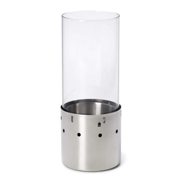 Boomex GelLampe PLUTO Lampe 31cm Edelstahl 21325 - Hommel