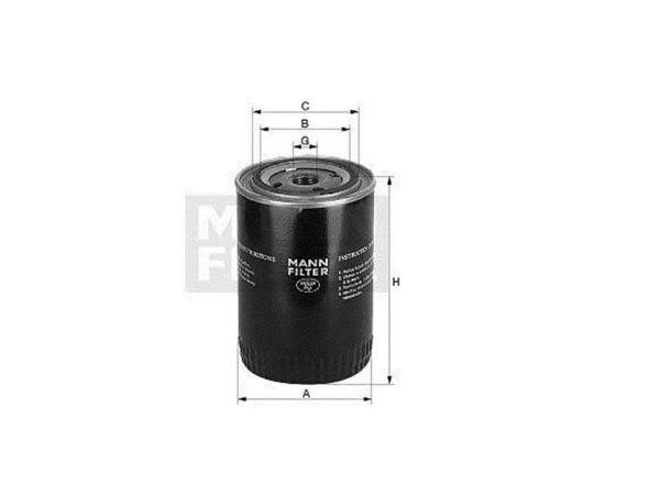 10 st mann oelfilter oel filter patrone w 11102 deutz. Black Bedroom Furniture Sets. Home Design Ideas